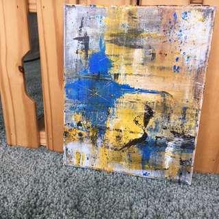 SKOGSTOKIG Acrylic Painting 30x20cm