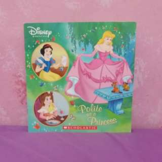 Scholastic storybook - Disney Princess