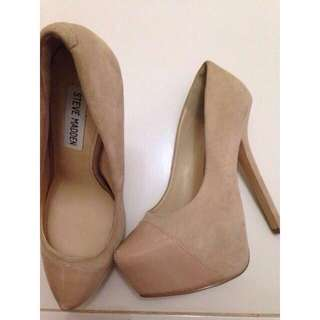 ORIGINAL Steve Madden Beautey Platform Suede Shoes