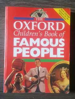 Oxford children's book of Famous People