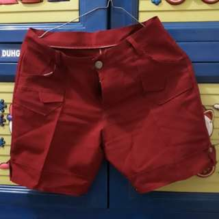 Red pants (size 28)