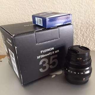 Fuji 35mm f2 + B+W filter