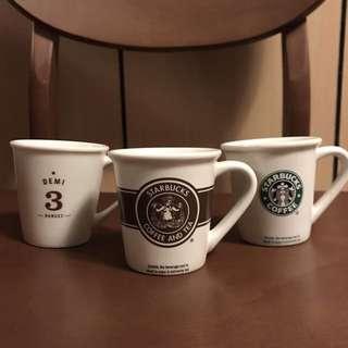 🚚 (Starbucks)3oz小馬克杯