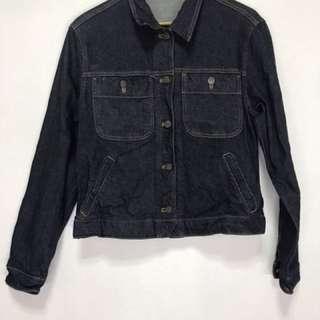 Blue Denim Jacket Strechable