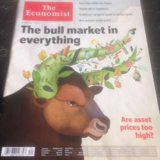 THE ECONOMIST Special Issue : The Bull Market In Everything (Are Asset Prices too High?)