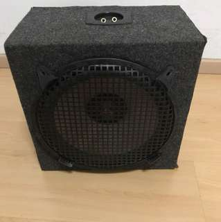 10' Cerwin Vega woofer with box