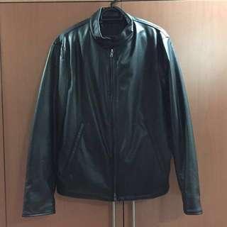 Leather Jacket (Uniqlo)