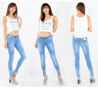 Jeans pauline unifinished