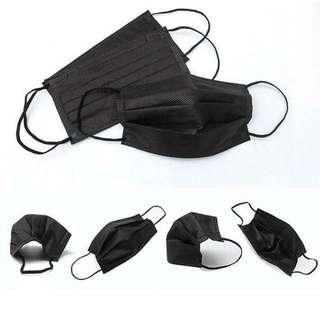 黑色口罩獨立包裝