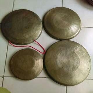 手工銅鑼(老物)