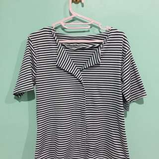 Striped blouse #onlinegaragesale