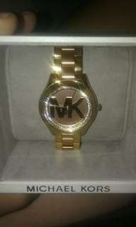 MK gold/Stainless steel watch