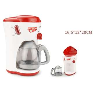 MINI COFFEE MAKER FOR KIDS - BATTERY OPERATED TOY