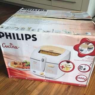 Philips Cucina Deep fryer • Brand New •