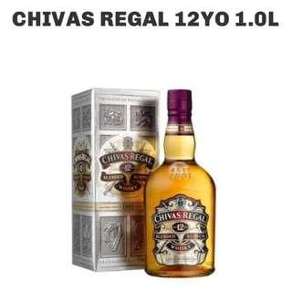 Chivas Regal 12yrs (1Liter)