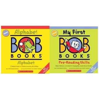 Bob Books Pre-Reading Bundle