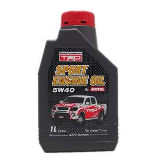 Motul TRD Sport Engine Oil 5W40 1L