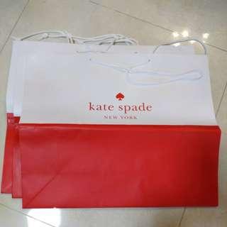 Kate spade 紙手抽3個