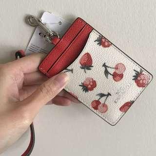 Coach 掛頸card holder
