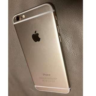 Iphone 6 Gold KINCLONG 16GB FU nett