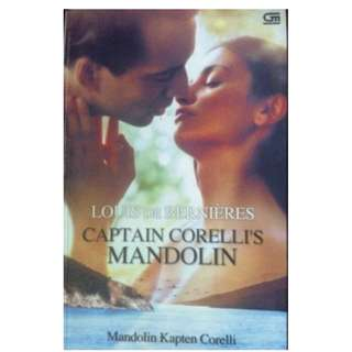 Buku CAPTAIN CORELLI'S MANDOLIN