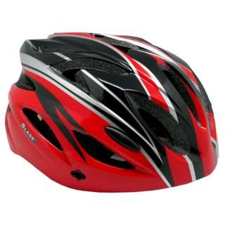 Blade Bike Helmet  LF-A021 GlossRed/White/Silver