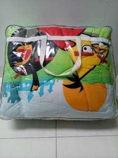 Bed cover angry bird merk king rabbit uk 160*200