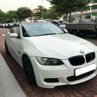BMW 335 CONVERTIBLE TWIN TURBO 2008