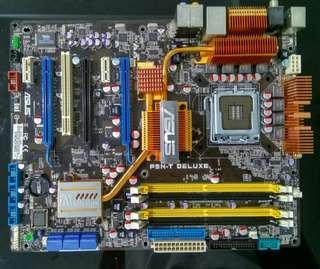 Asus P5N-T Deluxe Nvidia nForce 780i SLI DDR2 Intel Socket LGA 775 Motherboard