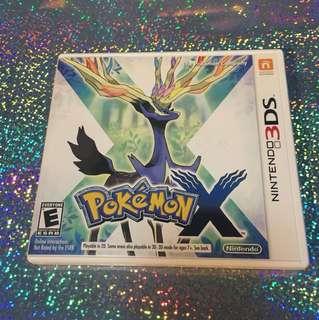 Nintendo 3ds Pokemon x