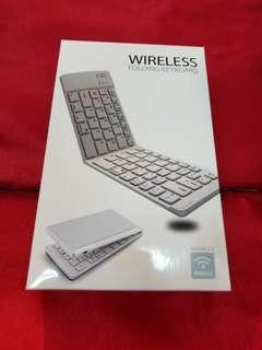可摺式無線鍵盤 wireless folding keyboard