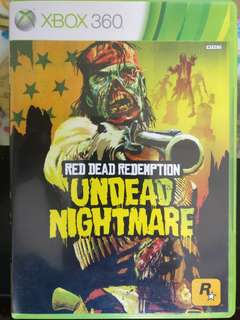 Xbox 360 - Red dead redemption undead nightmare