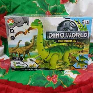 Dinosaur laying walking figure