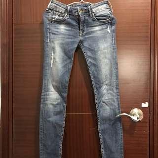 牛仔褲 H&m jeans