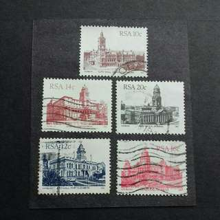 RSA Old Stamps - Used