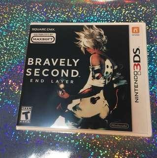 Nintendo 3ds Bravely Second BNIB