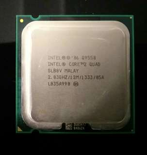 Intel Core 2 Quad Q9550 Processor 2.83GHz 12MB L2 Cache FSB 1333 Desktop LGA 775