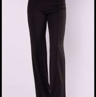 Fashion Nova Victoria High Waisted Dress Pants