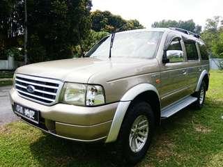 Ford Everest 2.5 (M).2005.  0164201108 WhatsApp.
