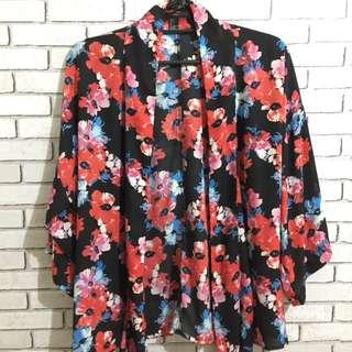 Forever 21 Printed Kimono