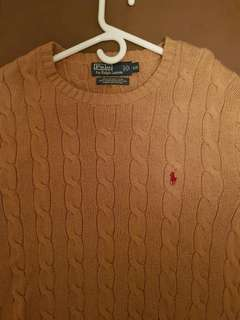 Ralph Lauren Polo Sweater (size large) great for guys and gals ;)