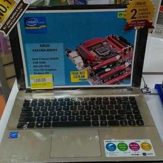 Asus X441NA-BX001 (Kredit Laptop 30 Menit)