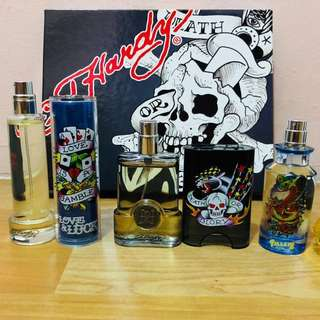 Ed hardy perfume deluxe collection gift set