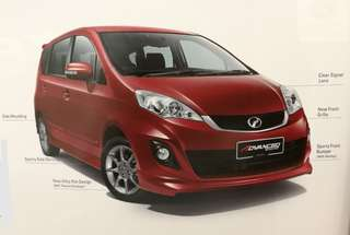 PERODUA ALZA 1.5 MPV with Special Price