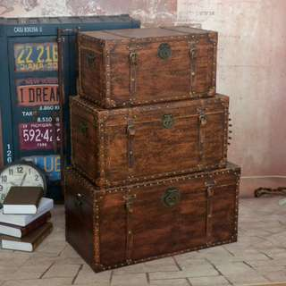 Todd's Vintage Wooden Chests