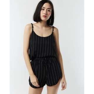 Top & Shorts Striped Set
