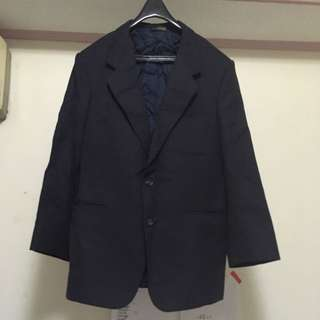 🚚 出售【二手】  男西裝服飾(褲子、背心、外套)-深灰黑 (不含運費/面交)