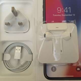 New Apple IPhone X Earphone lightning Cable Charger