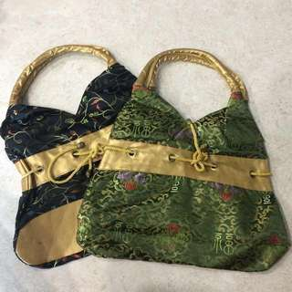 BN PATTERNED CLOTH BAGS