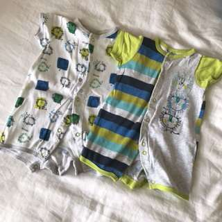 Mothercare Rompers sleepsuit